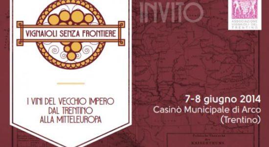 Vignaioli senza frontiere - Mostra mercato dei vignaioli del Trentino