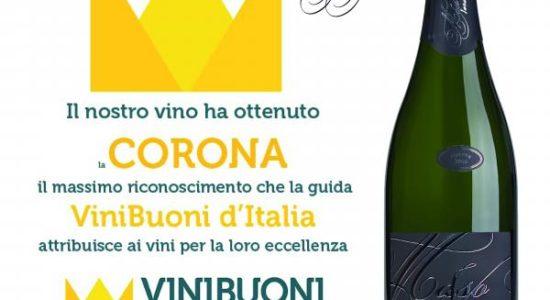Maso Nero Trentodoc è Corona 2016!