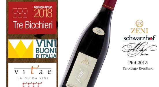 Guide 2018...tripletta per Pini 2013!!!!